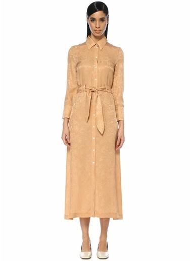 Nanushka Elbise Hardal